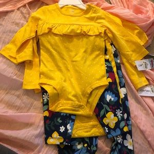 Yellow NWT two piece sets